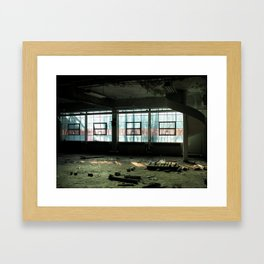 Laundry Chute Framed Art Print