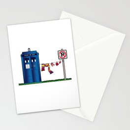 Doctor Who: tardis wardrobe  Stationery Cards