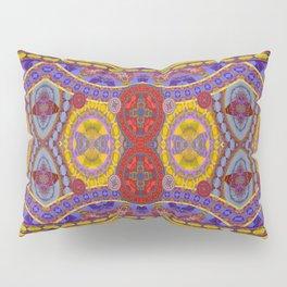 Mystical Magic Circus Abstract Print Pillow Sham