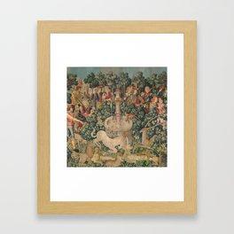 The Hunt of the Unicorn Framed Art Print