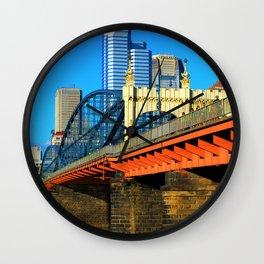 Bridge from south Wall Clock