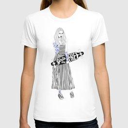 Girls are free T-shirt