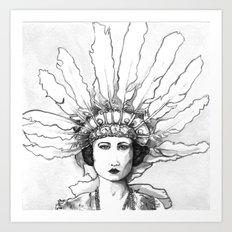 1920s Circus Dancer Art Print