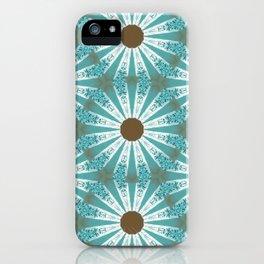 Retro Daisies iPhone Case
