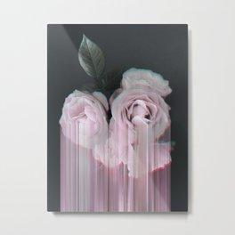 Fall In Rose Metal Print