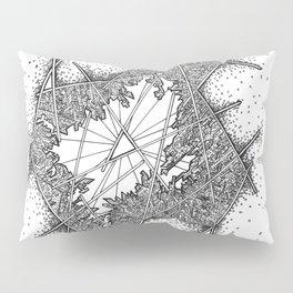 Fractal Pillow Sham