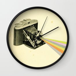It's a Colourful World Wall Clock