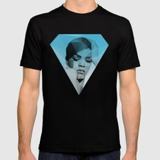 Rihanna Mens Fitted Tee Black SMALL