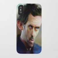 house md iPhone & iPod Cases featuring house md by robotrake