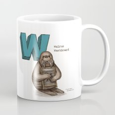 Animals & Instruments ABCs – W Coffee Mug