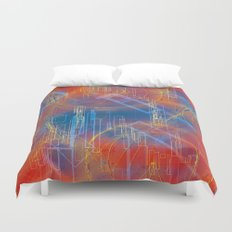 city and its dream Duvet Cover