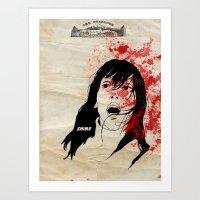 shining Art Prints featuring Shining by SeanAndOnAndOn