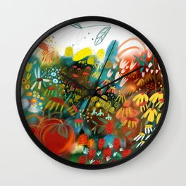THE TOMATOES ARE PERFECT Wall Clock