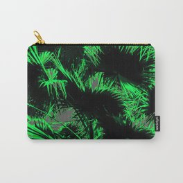 green palm leaves abstract background Carry-All Pouch