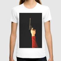 gun T-shirts featuring gun by Maleila