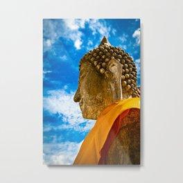 Buddha of Ayutthaya, Thailand Metal Print