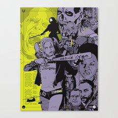 Suicide Squad alternative movie poster Canvas Print