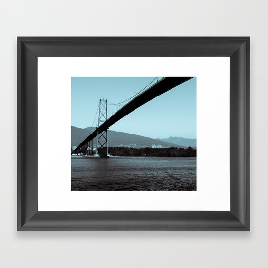Across the Ocean Framed Art Print