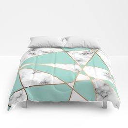 Marble Geometry 055 Comforters