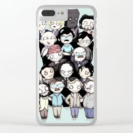 Serial Killers *EXTENDED* Clear iPhone Case