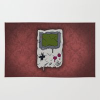 gaming Area & Throw Rugs featuring Decay of Gaming by Nate Galbraith