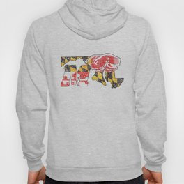 M for Maryland Hoody