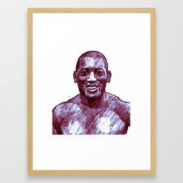 Jack Johnson Framed Art Print