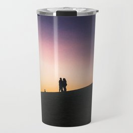Sunset on a Hill Travel Mug