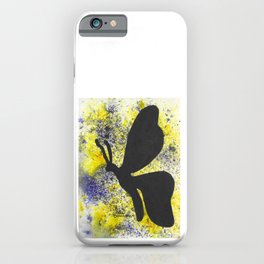 Betty Butterfly iPhone Case