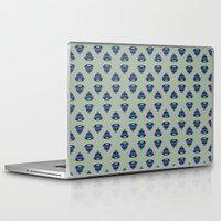 art deco Laptop & iPad Skins featuring Art Deco by MartaBerk