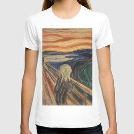 The Scream, Edvard Munch, classic painting T-shirt