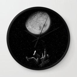 Goodbye moon Wall Clock