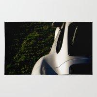 porsche Area & Throw Rugs featuring Porsche 959 by Tyler Visger