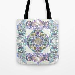 Soul Free Bliss Peace Mandala Boho Stamp Tote Bag