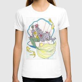 Mermaid and Sea Horse T-shirt