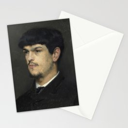 Claude Debussy (1862 – 1918) by Marcel Baschet, 1884 Stationery Cards