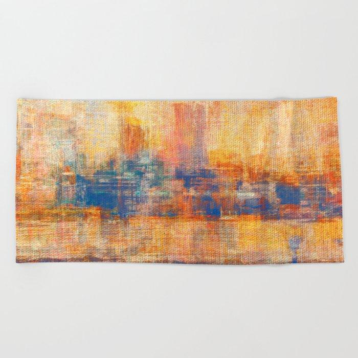 Dawn Yellowish Beach Towel