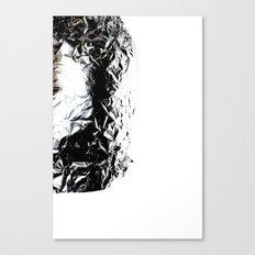 Aluminum Foil Canvas Print