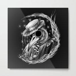 The Plaque Doctor Metal Print
