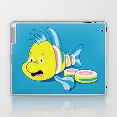 Flounder Sushi Laptop & iPad Skin