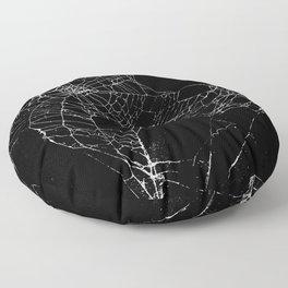 Goth SpiderWeb  Floor Pillow