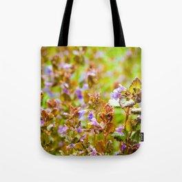 Ground Ivy Tote Bag
