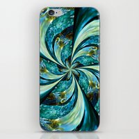 novelty iPhone & iPod Skins featuring Water Wheel by Moody Muse