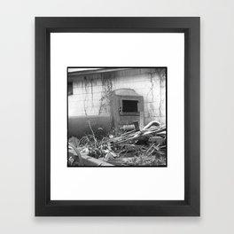 furnace Framed Art Print