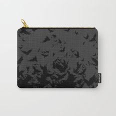 An Unkindness of Ravens (Grey) Carry-All Pouch