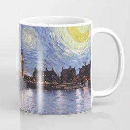 starry night over london Coffee Mug