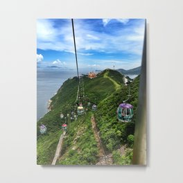 The Height Of It All Metal Print