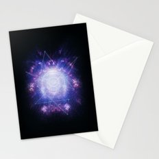 Abstract colossal space Sign! Stationery Cards