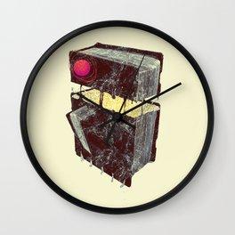 Rock,paper scissor series - PAPER Wall Clock