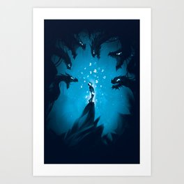 Fear My Song  Art Print